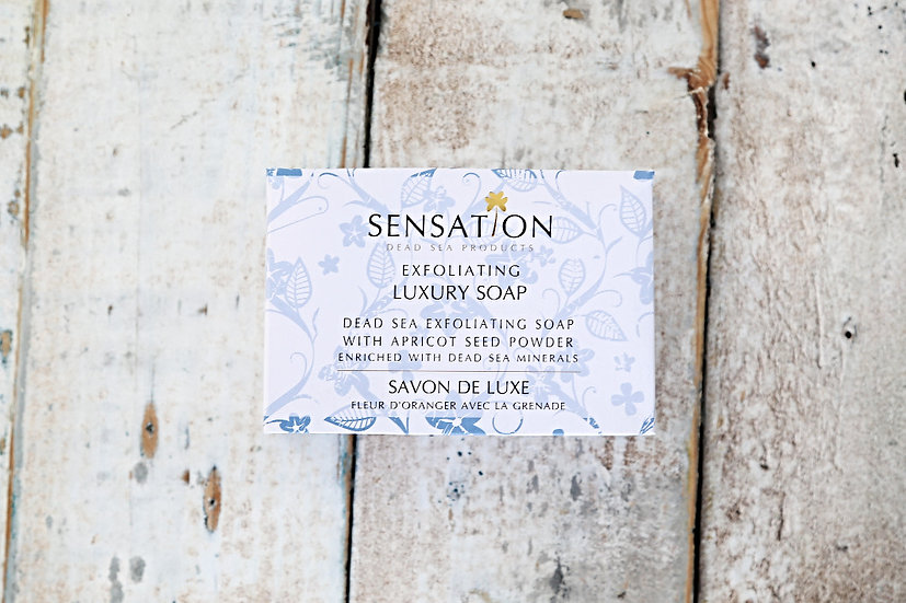 Exfoliating Luxury Soap With Dead Sea Minerals