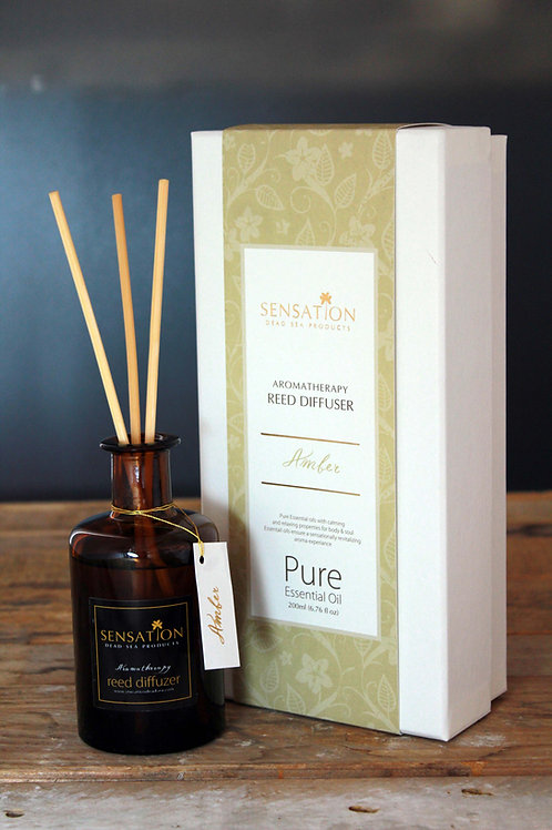 Aromatherapy Reed Diffuser ( Amber )