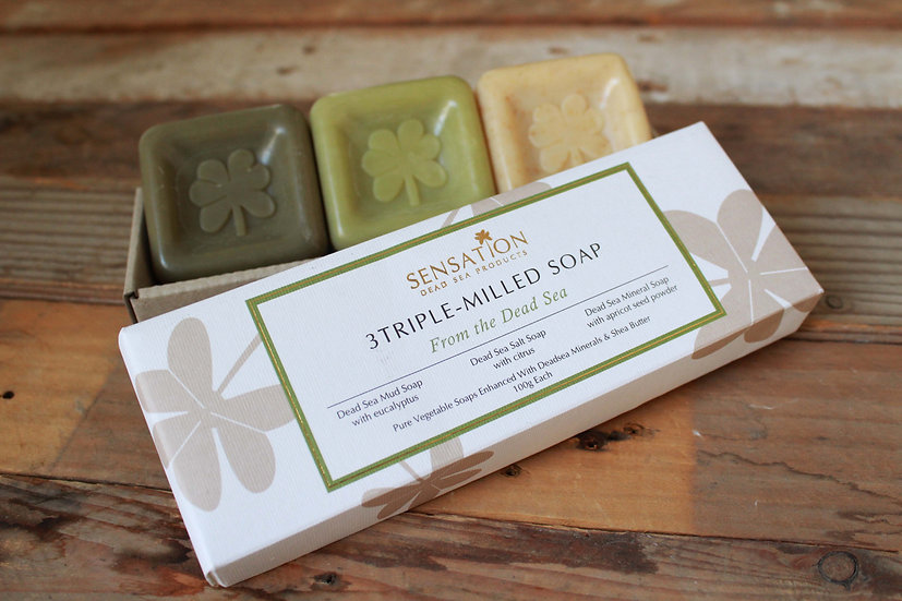 3Triple Milled Soap From The Dead Sea