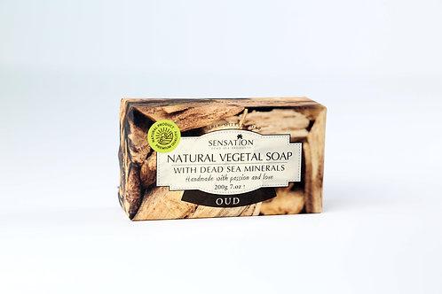 Natural Vegetal Soap With Dead Sea Minerals (Oud)