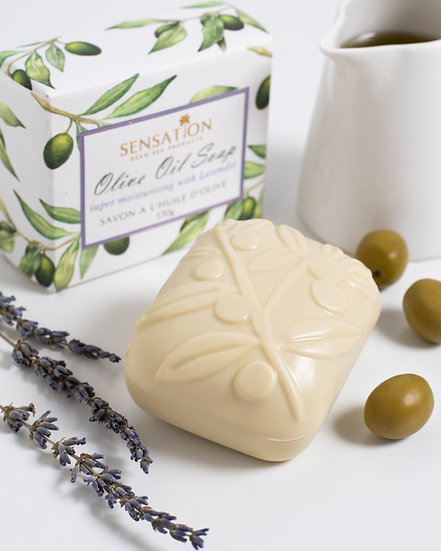 Olive Oil Soap Lavender