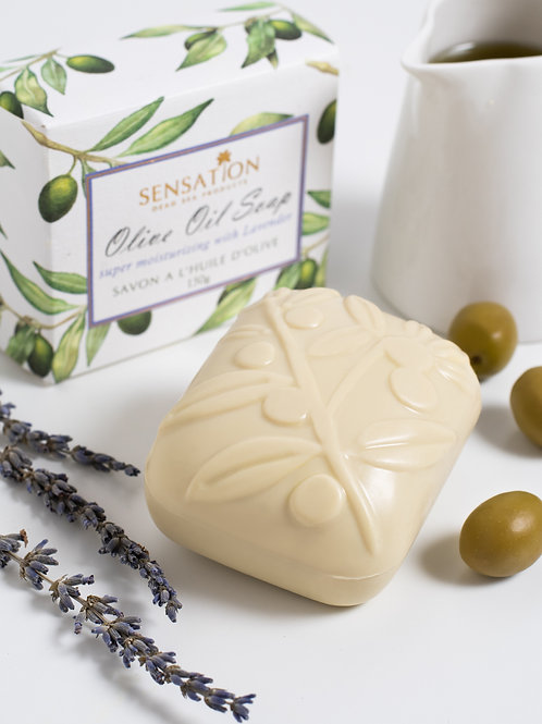 Sensation Olive Oil Soap Lavender