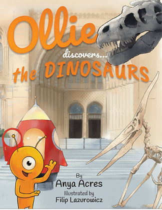 Ollie Discovers the Dinosaurs + free bookmark!