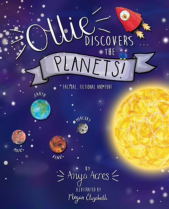 Ollie Discovers The Planets + free bookmark!