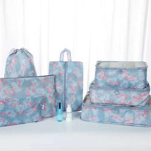 7PCs Travel Portable Storage Bag Set