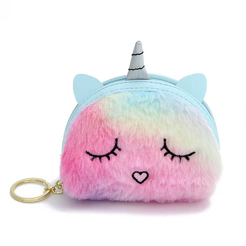 Unicorn Key Ring Purse