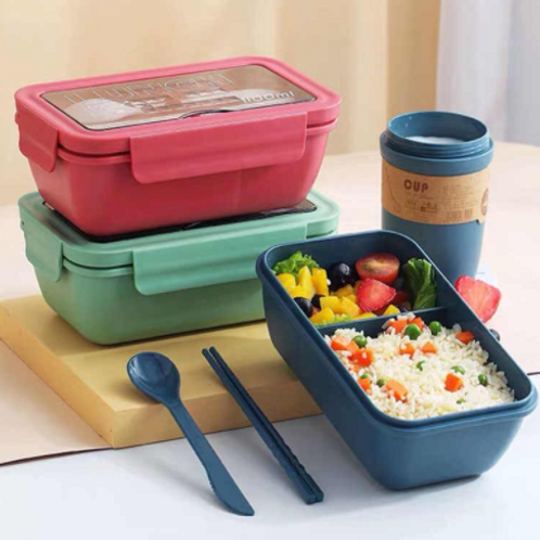 2 Layer Food Container