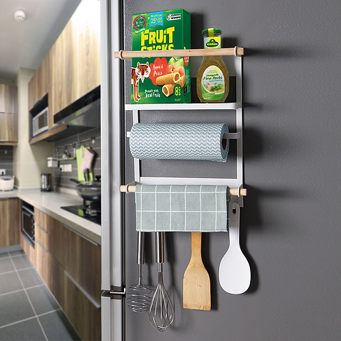 Refrigerator Magnetic Storage Rack
