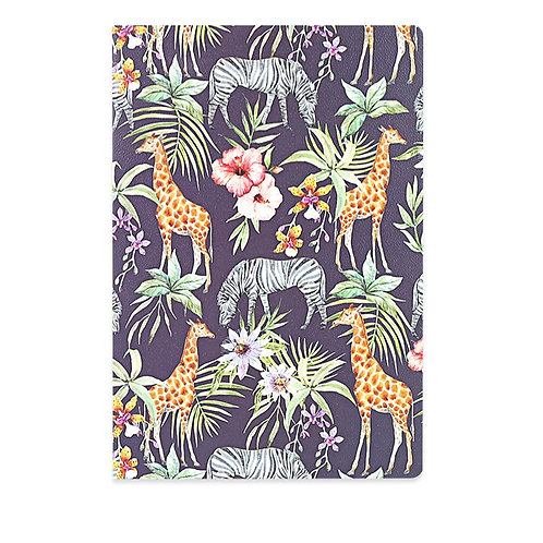 A7 Hard Cover Notebook - African Prints