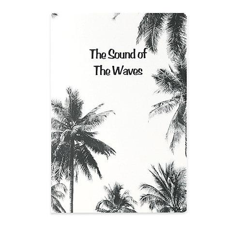 B5 Soft Cover Notebook - Black&White