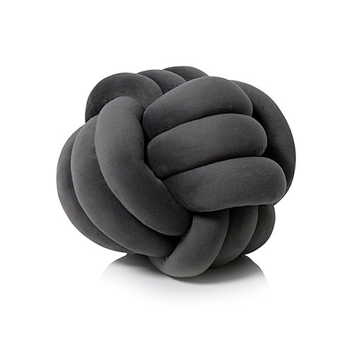 Velvet Knot Decorative Pillow