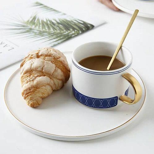 Blue Coffee Set