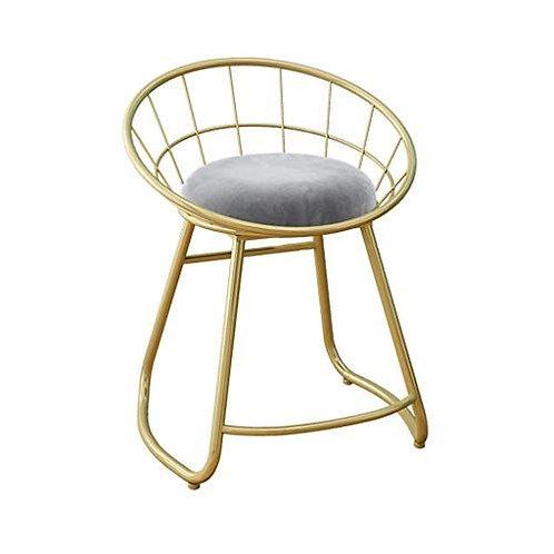Velvet Metal Chair
