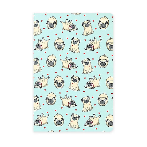 B5 Soft Cover Notebook - Animal Prints