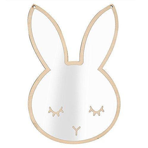 Nordic Acrylic Decorative Mirror - Bunny