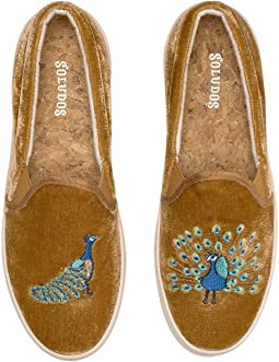 Soludos Velvet Peacock Sneaker