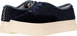 Soludos Porto Platform Velvet Sneaker