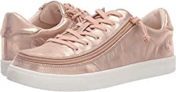 BILLY Footwear Classic Lace Low Metallic