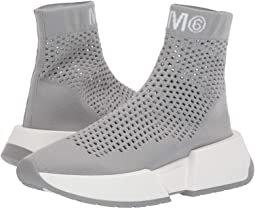 MM6 Maison Margiela Open Knit Sock Sneaker
