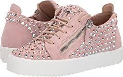 Giuseppe Zanotti Doris Low Jr. All Over Crystal Low Top Sneaker