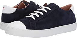 eleventy Suede Lace-Up Sneaker