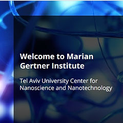 Congratulation to Yoav Dan and Dana Cohen-Gerassi on wining the Excellency Award for PhD students, Marian Gertner Institute for Nano-Medical Devices!