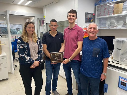 Congratulation to Nathan Schiffmann for receiving the prestigious IADR Colgate Research in Prevention Travel Award in collaboration with Eyal Rosen and Carlos Nemcovsky!