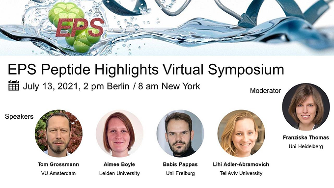 Lihi is a panelist in the EPS Peptide Highlights Virtual Symposium - you are welcome to join!