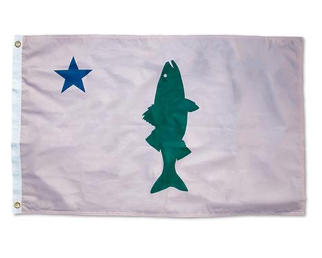 Old Maine Striper Flag