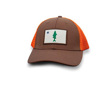 Old Maine Flag Striper Hat - Fish Hunter