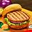 Thumbnail: 1/3 lb. Cheese and Jalapeño Pork Burger Patties