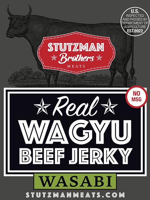 Wasabi Wagyu Beef Jerky - 4oz.