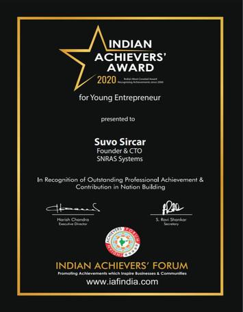 Indian Achievers Award