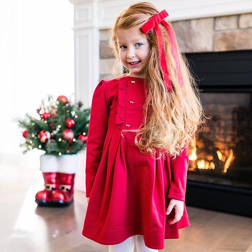 Robe rouge avec boucle - Mayoral