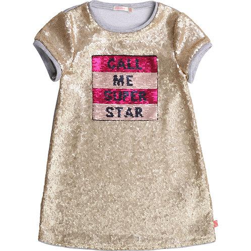 Robe scintillante Call Me Super Star - Billieblush