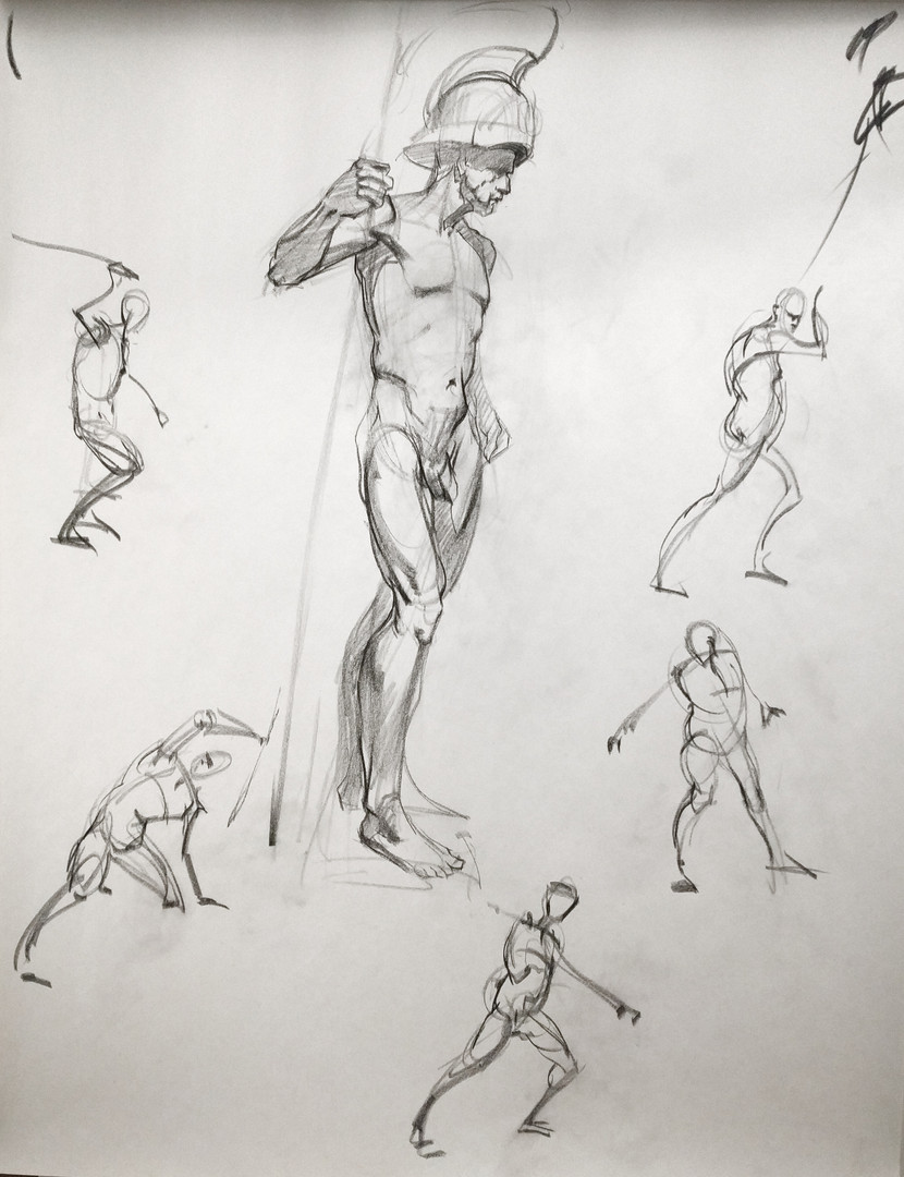 Figure drawing thursday