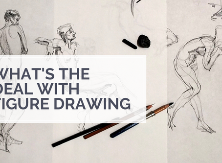 5 Reasons Why You Want to Hop On The Figure Drawing Train