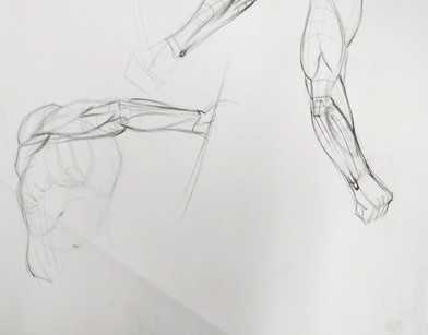 Various arm positions