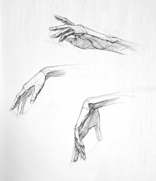hand demo drawing