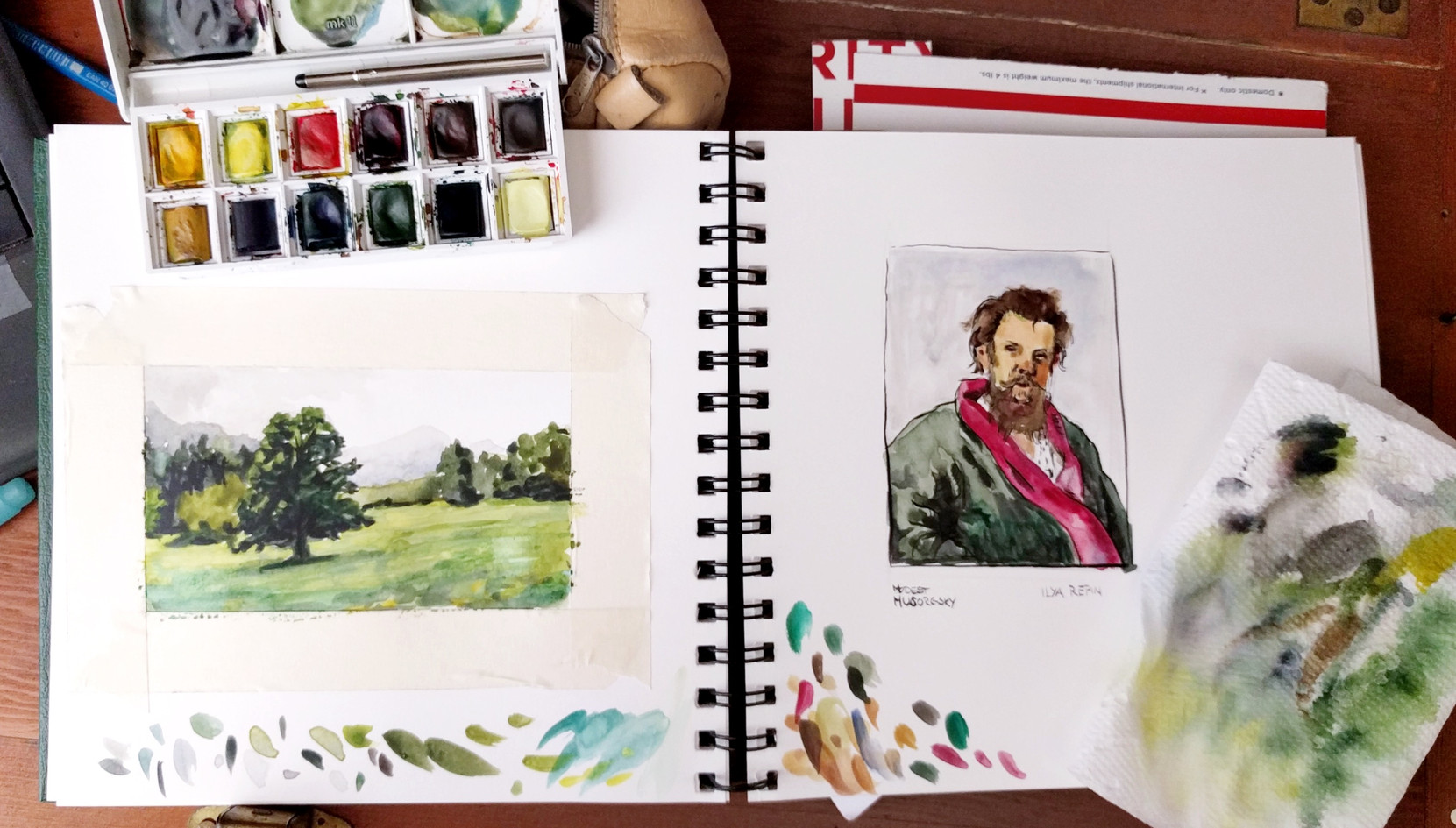 Composing with Watercolors