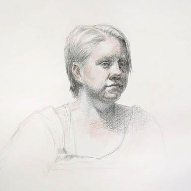3 Crayon Portrait
