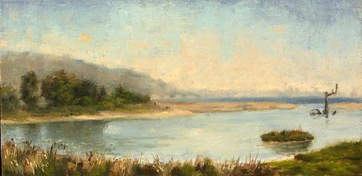Malibu Lagoon painting