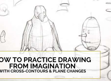 How to Practice Drawing From Imagination Part 1