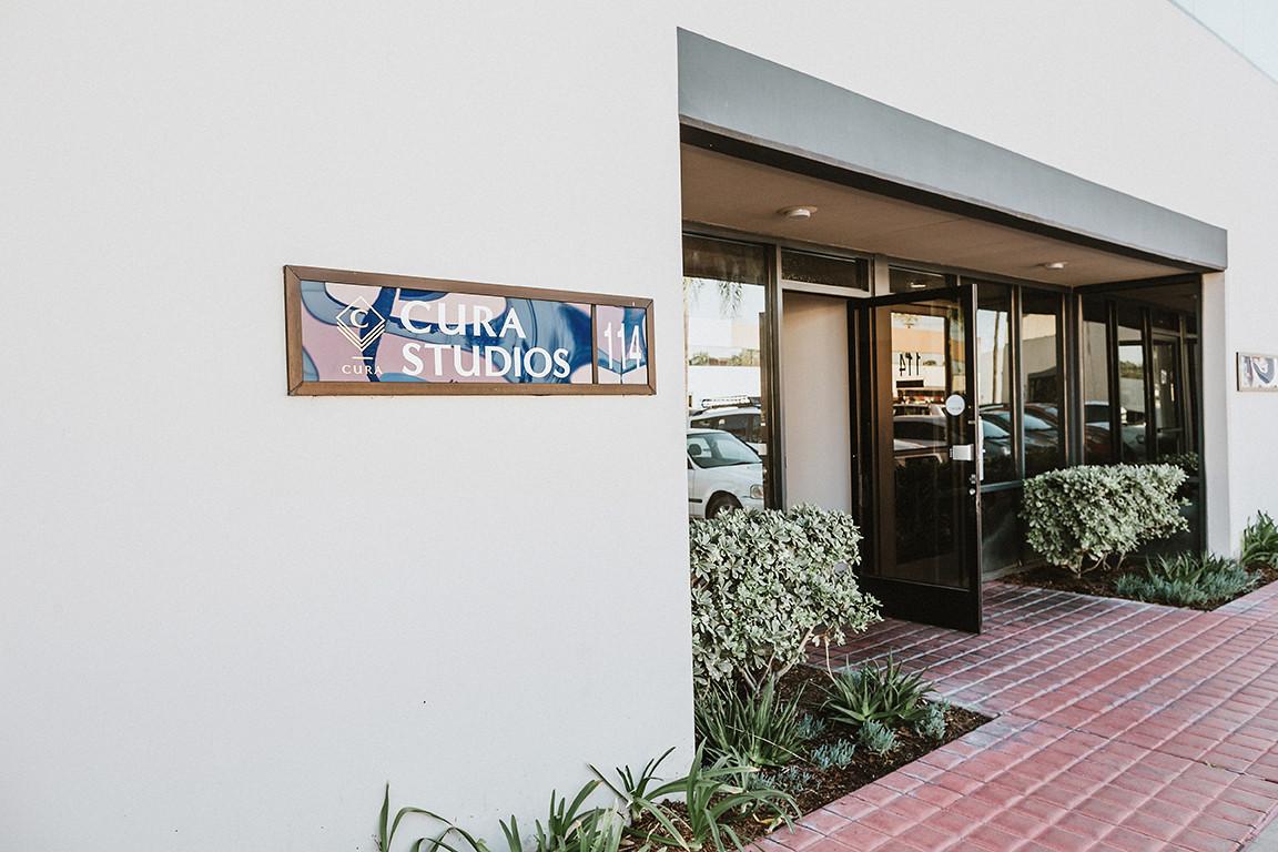 Cura Studios entrance
