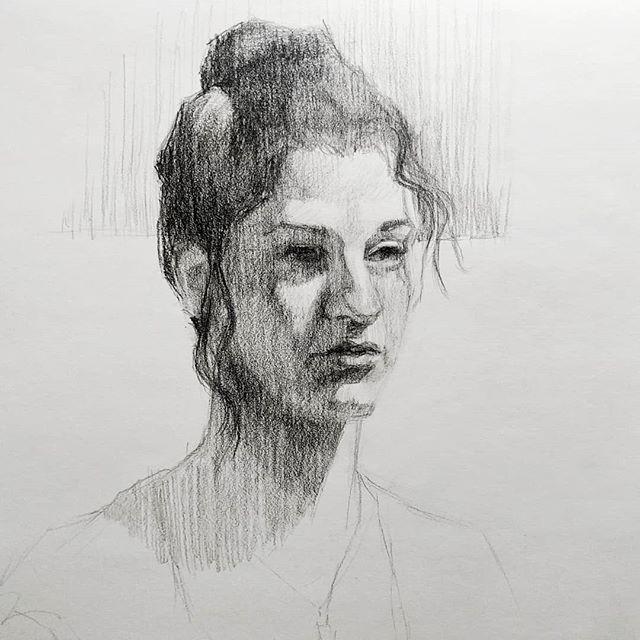 3 hr. Charcoal Portrait