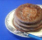Valencia Blue Corn Pancake
