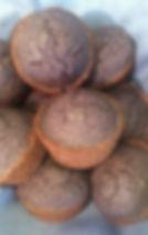 Valencia Blue Corn Muffins