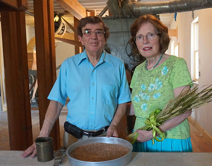Jose & Kathy Cordova, current mill owners