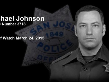 THOUSANDS ATTEND MEMORIAL FOR FALLEN OFFICER MICHAEL JOHNSON