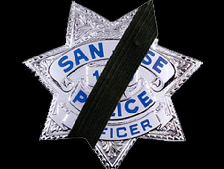 SAN JOSE OFFICER KILLED IN THE LINE OF DUTY